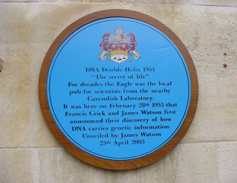 TheEaglePub-Cambridge-BluePlaque