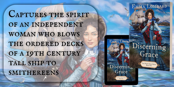 BOOK SPOTLIGHT & REVIEW : DISCERNING GRACE by Emma Lombard